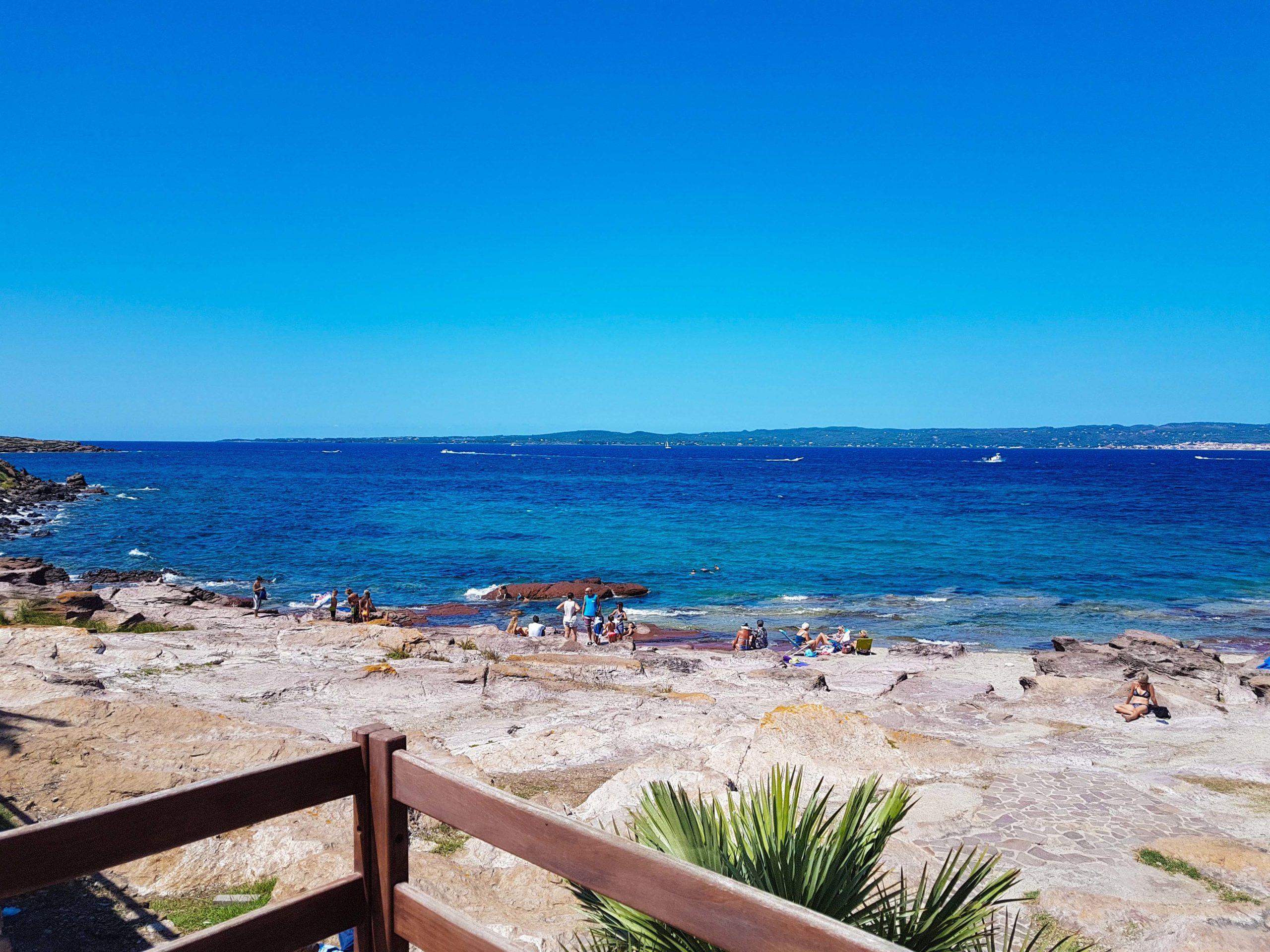 Spiaggia di scogli - Scoggiü de Sabetta - Scoglio Di Elisabetta